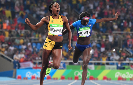 Jamaica's newest sprint queen Elaine Thompson became the first woman to win the women's sprint double at an Olympic Games in 28 years